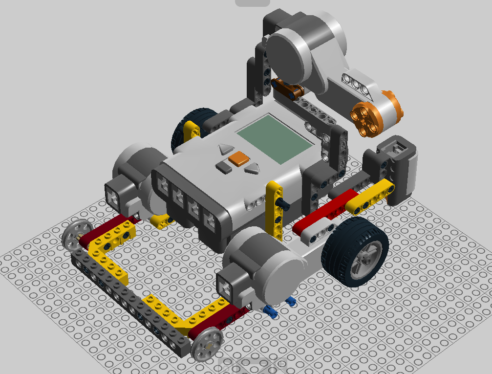 Ldd models for Lego digital designer templates